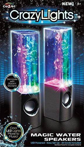 Cra-Z-Art Dancing Water Speakers (Colors May Vary)