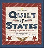 img - for By Adrienne Yorinks Quilt of States: Piecing Together America (First Edition) book / textbook / text book