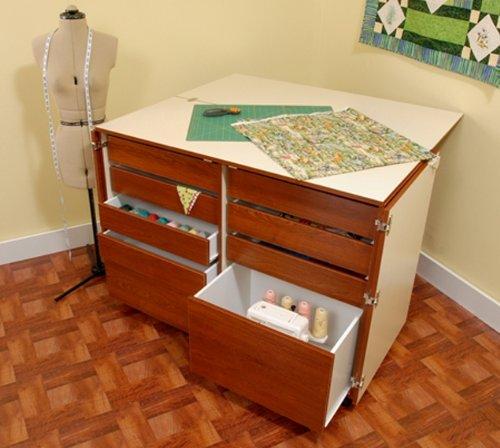 Dingo Lockable Storage Cabinet With Nine Drawers In Teak By Kangaroo Kabinets