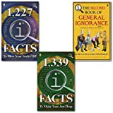 John Lloyd John Lloyd QI Books Collection 3 Books Set, (1,227 QI Facts To Blow Your Socks Off, 1,339 QI Facts To Make Your Jaw Drop & [paperback] QI: The Second Book of General Ignorance)