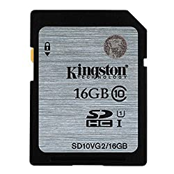 KINGSTON 16GB SDHC Class10 UHS-I 80MB/s Read