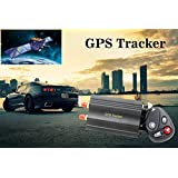 GPS SMS tracker TK103B with remote control Free PC version software google maps link real time tracking device