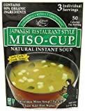 Miso-Cup Japanese Restaurant Style, 2.9-Ounce Pouch(Pack of 6)