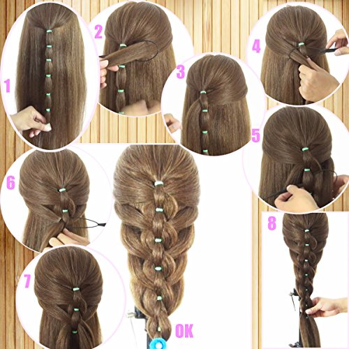 how to use hair braid ponytail maker styling tool