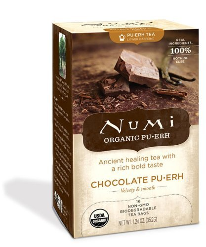 NUMI TEA TEA,OG2,CHOCOLATE PUERH, 16 BAG (Numi Chocolate Puerh compare prices)