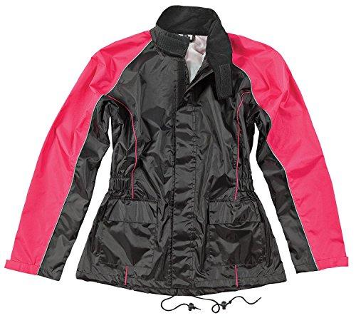 Joe Rocket RS-2 Women's Rain Suit (Black/Pink, Large) (Rain Suit Moto compare prices)