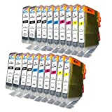 20 Pack - Compatible Ink Cartridges