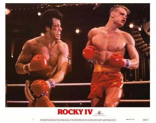 Rocky 4 Poster Movie 11x14 Sylvester Stallone Talia Shire Dolph Lundgren Brigitte Nielsen by Pop Culture Graphics [並行輸入品]
