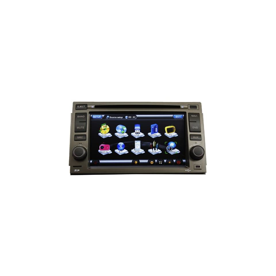 Koolertron For Hyundai Azera In Dash Car DVD player Car Radio GPS