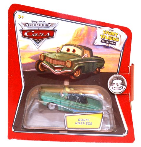 Disney / Pixar CARS Movie 1:55 Die Cast Story Tellers Collection Rusty Rust-Eze - 1