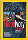 img - for National Geographic Magazine - October 2012, Blood Ivory, 25,000 Elephants Were Killed Last Year (Vol.222, No.4) book / textbook / text book