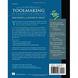 Learn PowerShell Toolmaki Livre en Ligne - Telecharger Ebook