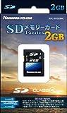 ハギワラシスコム SDカード Class4 2GB ブラック HPC-SD2GB4C