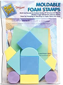 Clearsnap 462344-Stamp geom-trica Magia Set - 10 Piezas