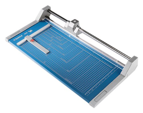 Dahle A3 Professional Trimmer 510mm Cutting Length/ 2mm Cutting Capacity - Blue