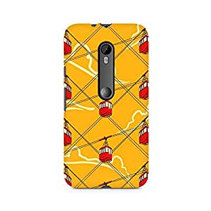 TAZindia Printed Hard Back Case Cover For Moto G3