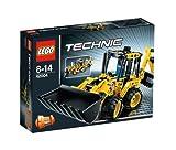 レゴ テクニック ミニバックホーローダー 42004