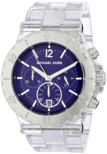 Michael Kors Women's MK5409 Bel Air Chronograph Blue Dial Watch