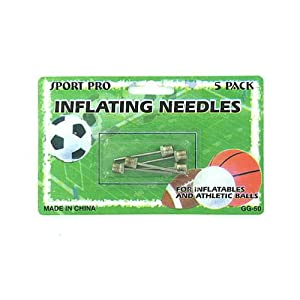 72 Sports ball inflating needles by FindingKing