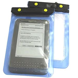 WMA Blue Amazon Kindle Waterproof Case Cover Protective Bag Pouch
