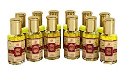 Ajmal Sandalia Mumtaz Attar Free from Alcohol 10 gms x 12 bottles