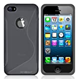 Minisuit S Shape Case Cover for iPhone 5/5S (Gray)