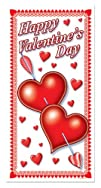 Happy Valentines Day Door Cover Party Accessory 1 count 1Pkg