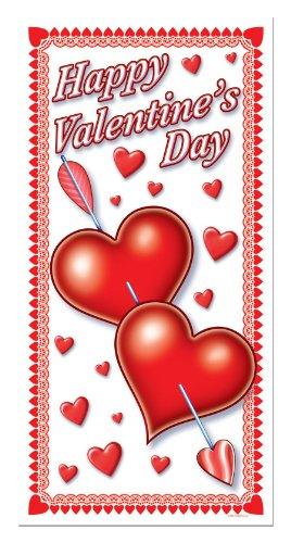 Happy Valentine's Day Door Cover 30in. x 5ft Pkg/1