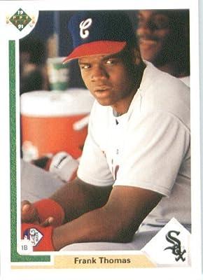 1991 Upper Deck # 246 Frank Thomas Chicago White Sox - MLB Baseball Trading Card