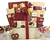 Wine Country Gift Baskets Collection Containing Godiva Chocolate