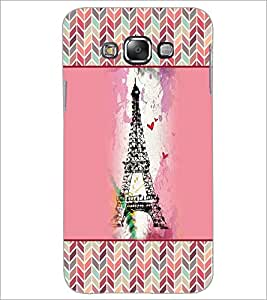 Printdhaba Tower D-4152 Back Case Cover For Samsung Galaxy A8