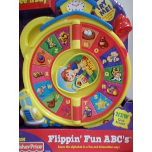 Amazon.com: Fisher Price See'n Say Flippin'fun Abc's
