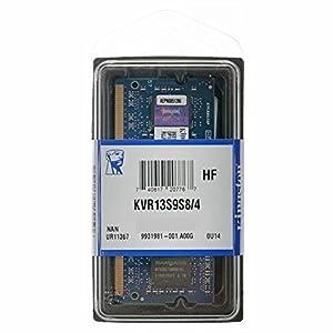 Kingston KVR13S9S8/4 Arbeitsspeicher 4GB (204-polig, CL9) DDR3-RAM