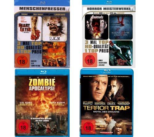 Horror Blu-ray Klassiker (8 Filme - 4 Blu-rays)