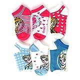 Frozen Girls 6 pk Ankle Socks