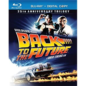 51nDv9cslWL. SL500 AA300  Back to the Future: 25th Anniversary Trilogy Blu ray with Digital Copy   $40 + Free Shipping