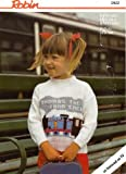 Child's Thomas the Tank Engine Picture Knit Sweater, Robin Knitting Pattern 13632, 20-28 in chest, in Robin Reward Double Knitting