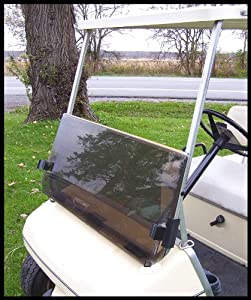 TINTED Windshield for Club Car Golf Cart 1982 to 2000 by Franklin