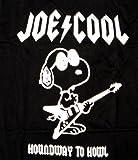 T-Shirt with Joe Cool / Snoopy / The Peanuts / Charlie Brown Motif Black black Size:L