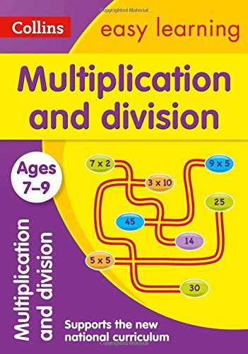 Collins Easy Learning Age 7-11 — Multiplication and Division Ages 7-9: New Edition (Fractions Made Easy compare prices)