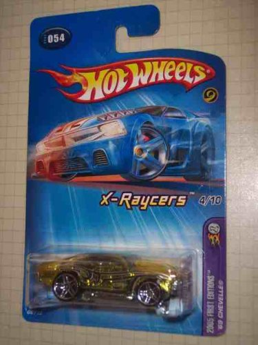 2005 First Editions X-Raycers #4 1969 Chevelle PR-5 Wheels #2005-54 Collectible Collector Car Mattel Hot Wheels - 1