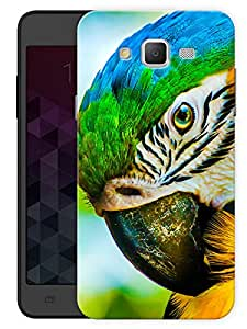 "Humor Gang Colorful Exotic Bird Printed Designer Mobile Back Cover For ""Samsung Galaxy J5"" (3D, Matte, Premium Quality Snap On Case)"