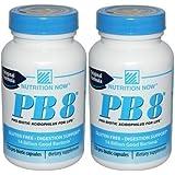 Nutrition Now Pb 8 Pro-biotic Acidophilus 120 Capsules (2 Pack)