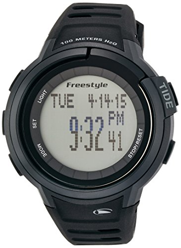 Freestyle Unisex 103001 Mariner Round Black Yacht Timer LCD Watch