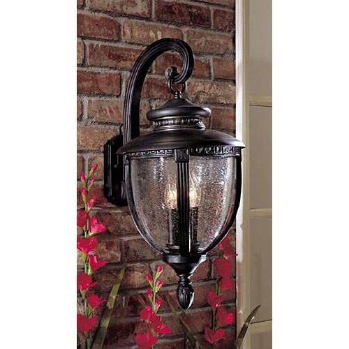 Polished Chrome Dainolite 809-1W-PC 1-Light Sconce with Oval Frosted Glass