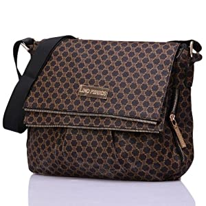 Lino Perros Women Girls Handbags LWHB 00172 BROWN