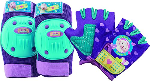 Bell Doc McStuffins Protective Gear with Elbow Pads/Knee Pads and Gloves
