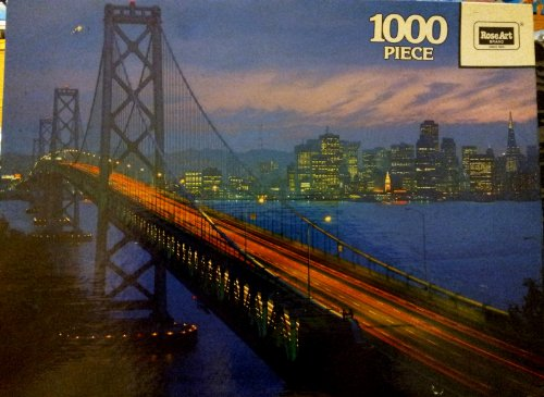 Prestige 1000pc. Puzzle-Bay Bridge by Rose Art