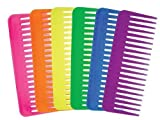 Aristocrat Neon Fluff Combs In A Container (Pack of 36)