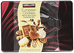 Kirkland Signature European Cookies with Belgian Chocolate, 49.4 Ounce